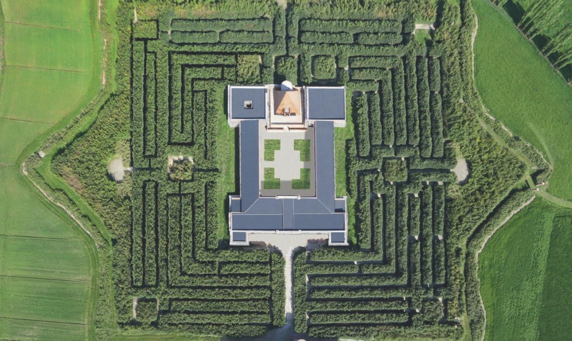 labirinto bambù