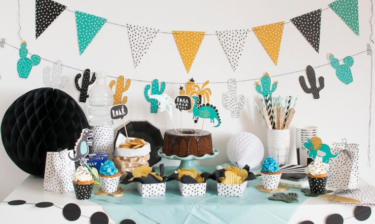 Tendenza tavole per le feste: sweet table e party table