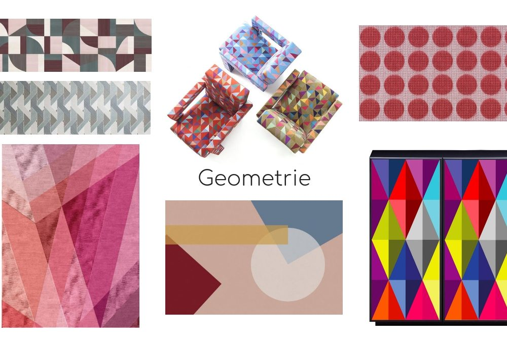 Rivestimenti con pattern geometrici
