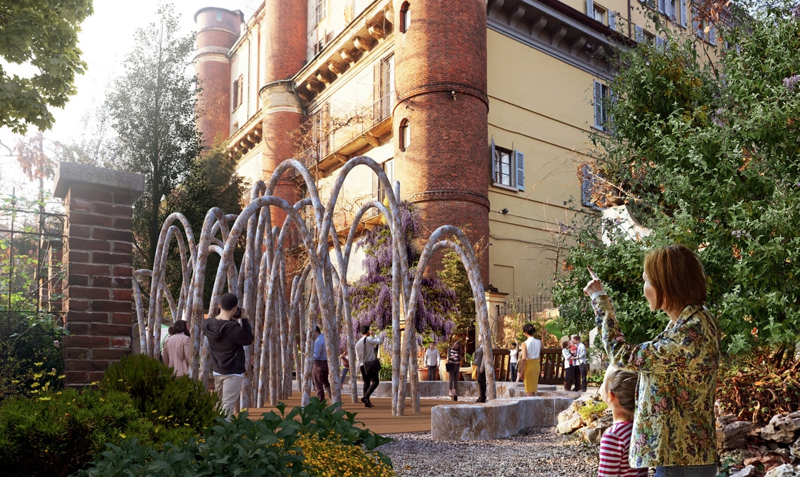The Circular Garden di Carlo Ratti Associati all'Orto di Brera