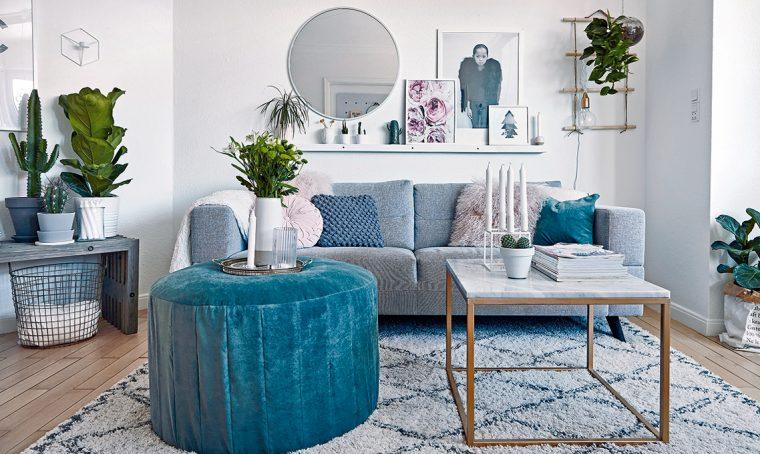 Atmosfere soft e soluzioni fai-da-te in un mini appartamento in Danimarca