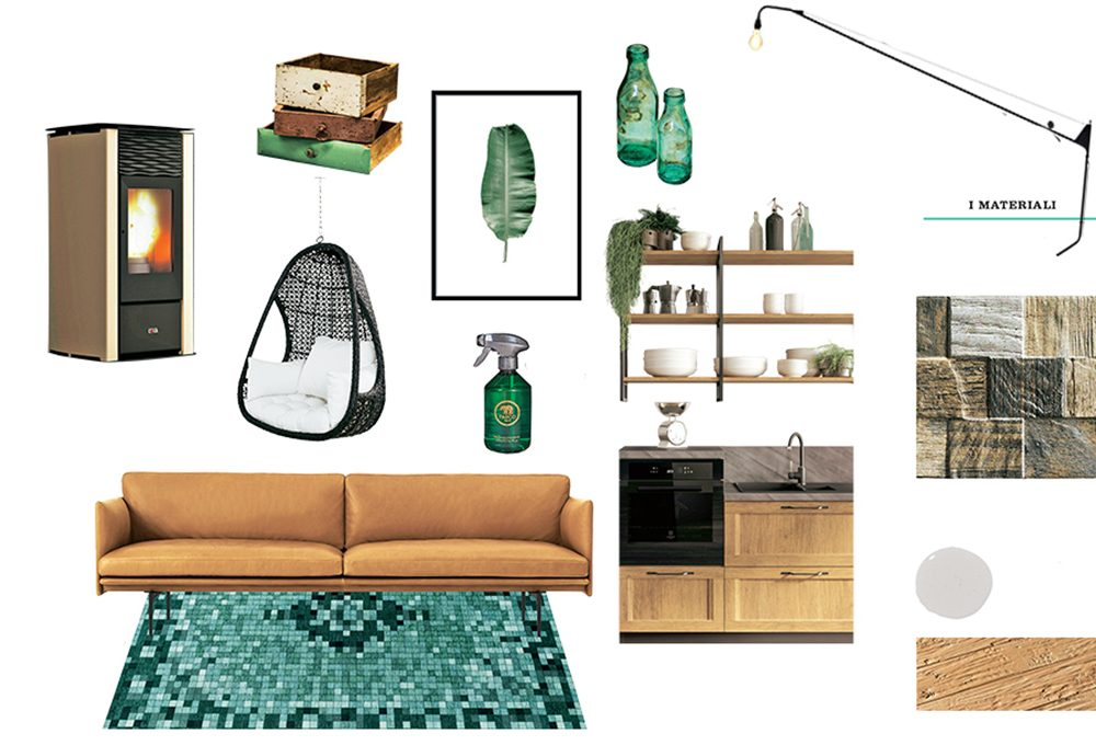 Come ricreare lo stile industrial green