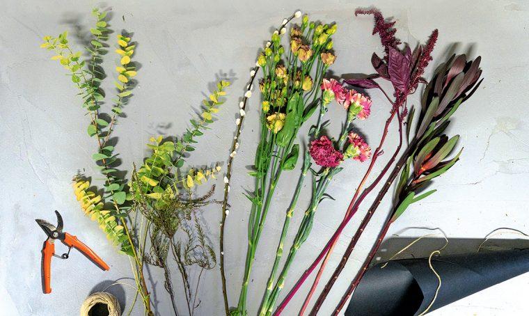 Come si fa il mazzo di fiori ecosostenibile