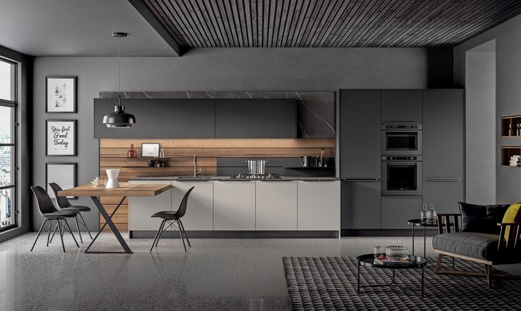 Tendenza cucina: la boiserie tailor made