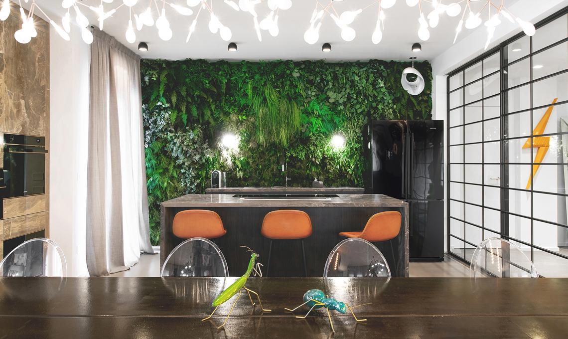 Piante stabilizzate per realizzare una parete verde in ...