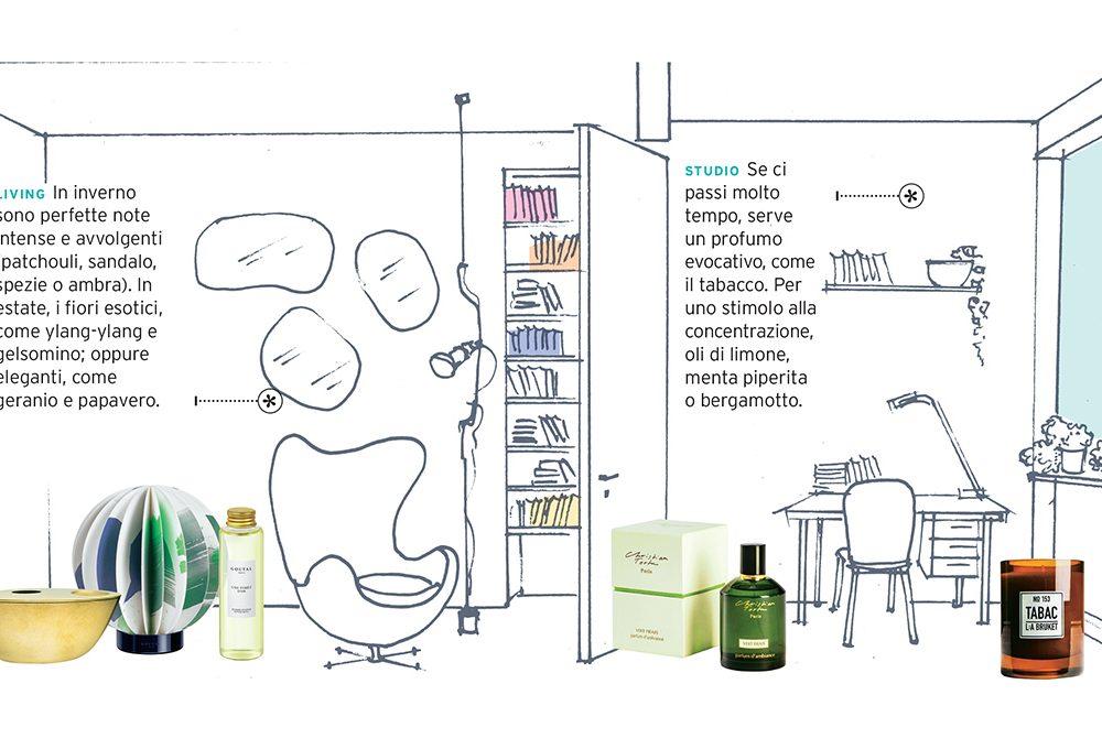 Come scegliere il profumo giusto per ogni stanza