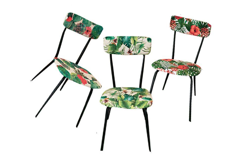 Nuovo look per le sedie anni '50