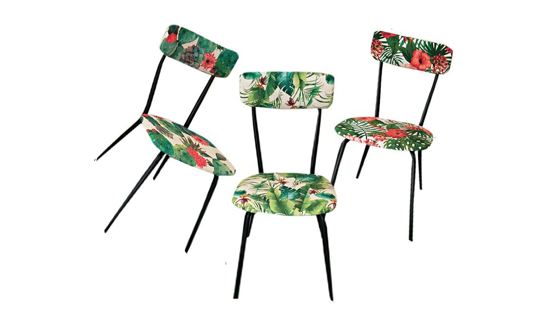 Nuovo look per le sedie anni 39 50 casafacile for Sedie per tinello