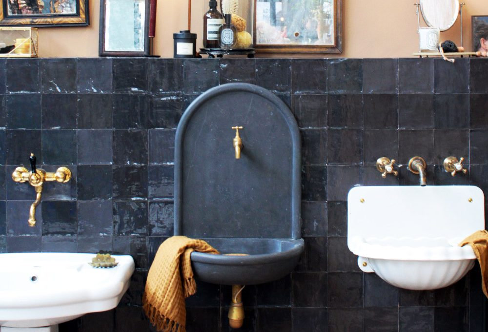 Ristrutturare il bagno in stile rétro