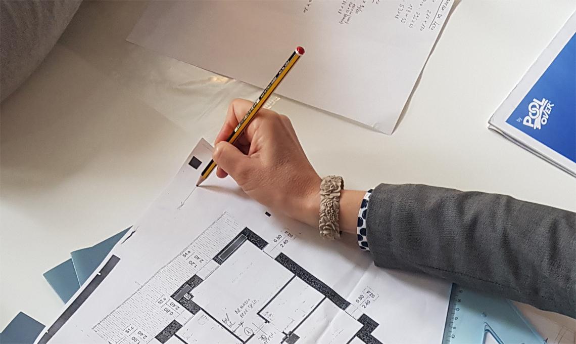 Un momento delle consulenze che si sono svolte al CasaFacile Design Lab.