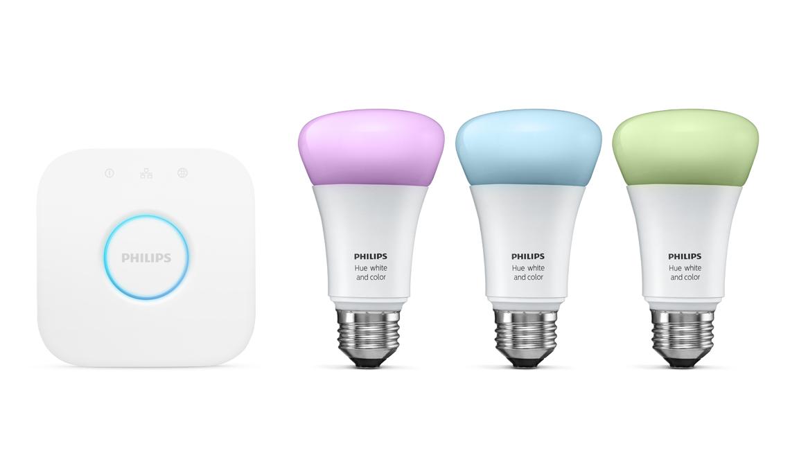 Le lampadine Philips sono un ottimo esempio di dispositivi smart, per l'efficacia e l'immediatezza d'uso.