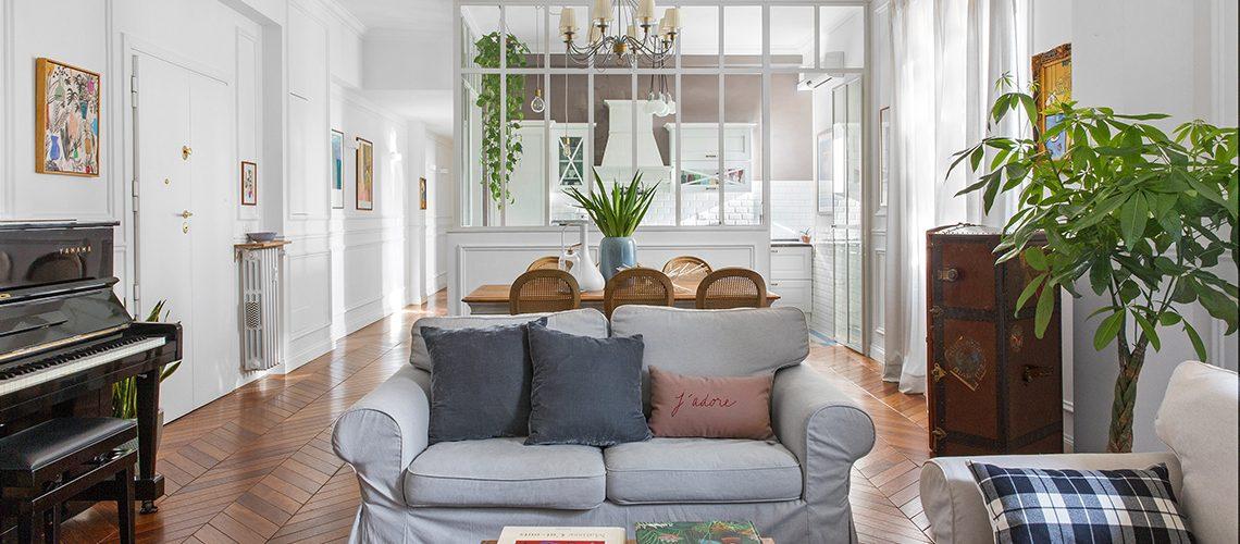 Come arredare una casa in stile Haussmann