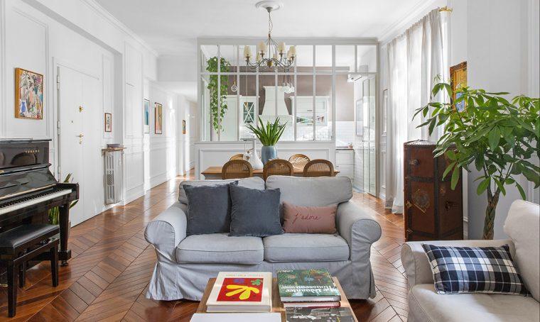 casa classica stile haussmann