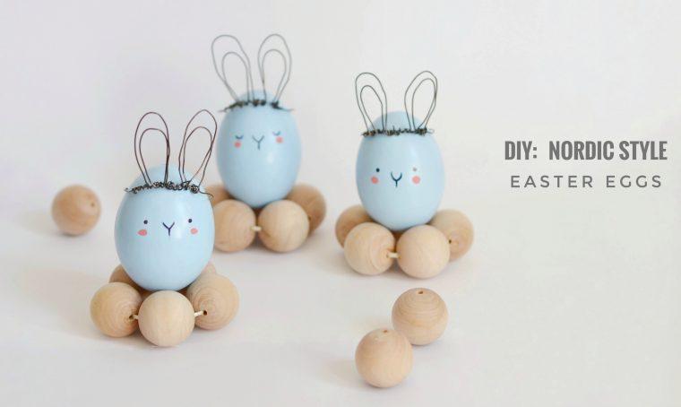 Come creare uova decorative in stile nordico