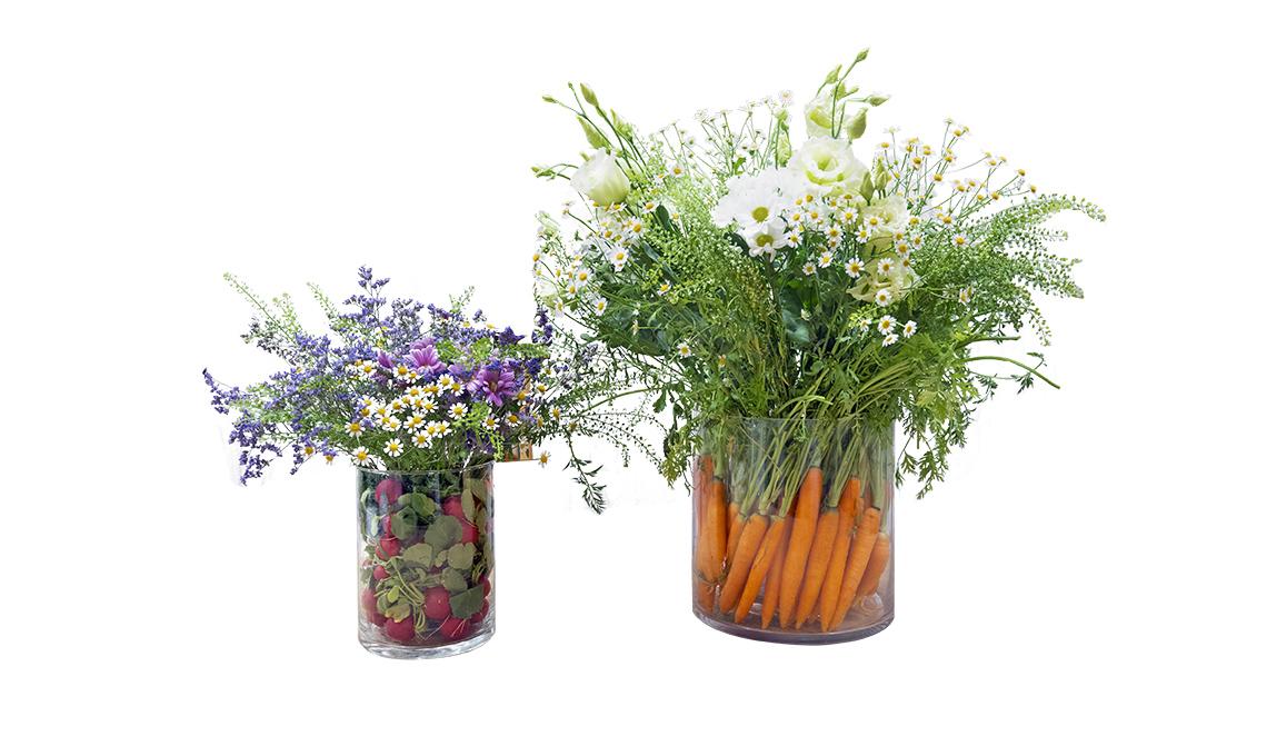 Mazzo Di Fiori E Verdure.Come Si Fa La Matrioska Di Fiori E Verdure Casafacile