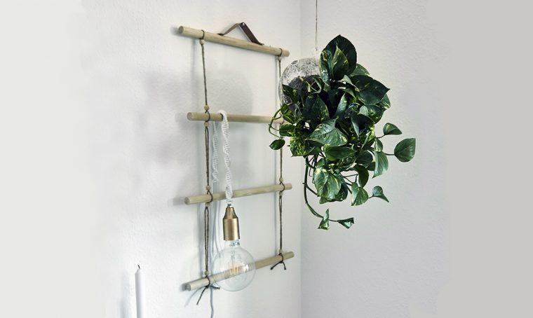 Come realizzare il wall hanging con i legnetti