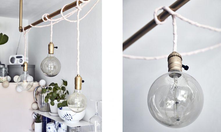 Come realizzare il lampadario sospeso