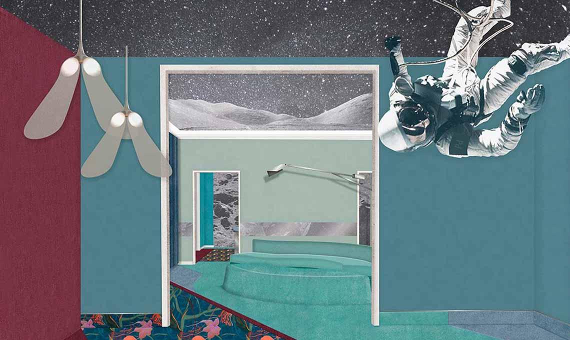 Rossella Cardone (A casa di Ro) consiglia gli allestimenti di Via Palermo 1, tra cui il Planetario di Cristina Celestino