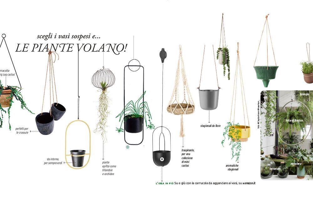 13 vasi sospesi per appendere le piante