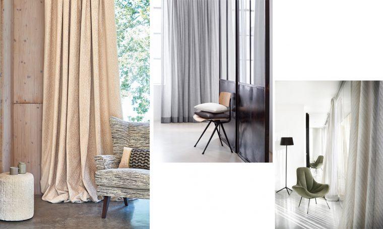 Arreda la casa con le tende in nuance
