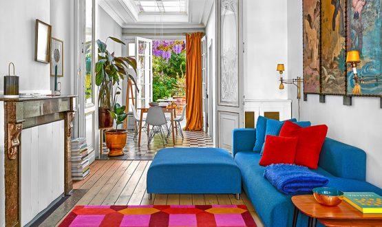 Atmosfere esotiche e colori accesi in una casa di fine '800