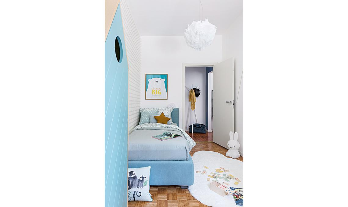 cameretta azzurra