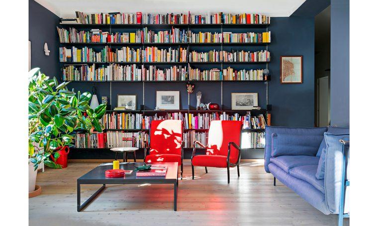 Design e fai-da-te si sposano nell'appartamento Art Déco