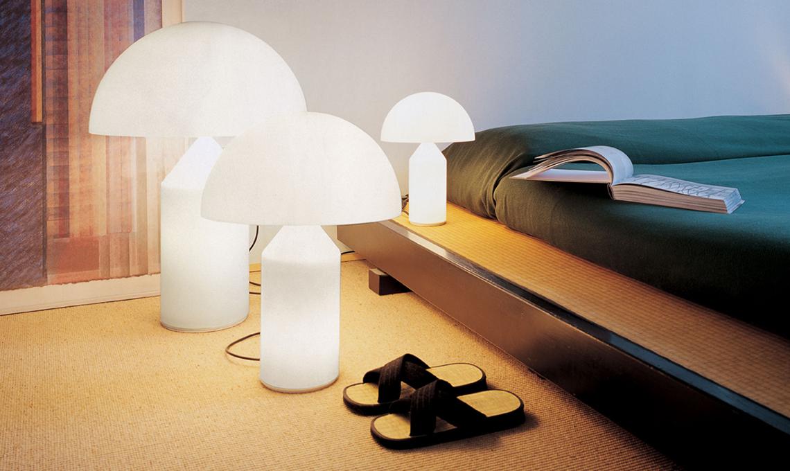 lampada atollo oluce