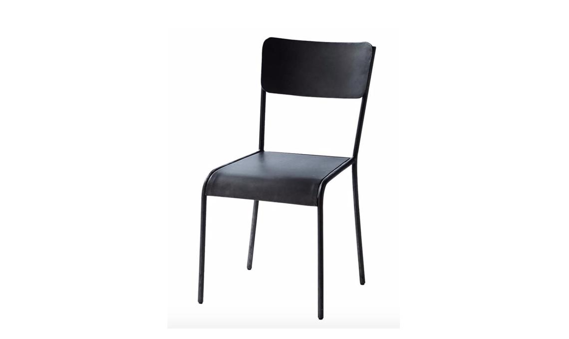 sedia metallo stile industriale