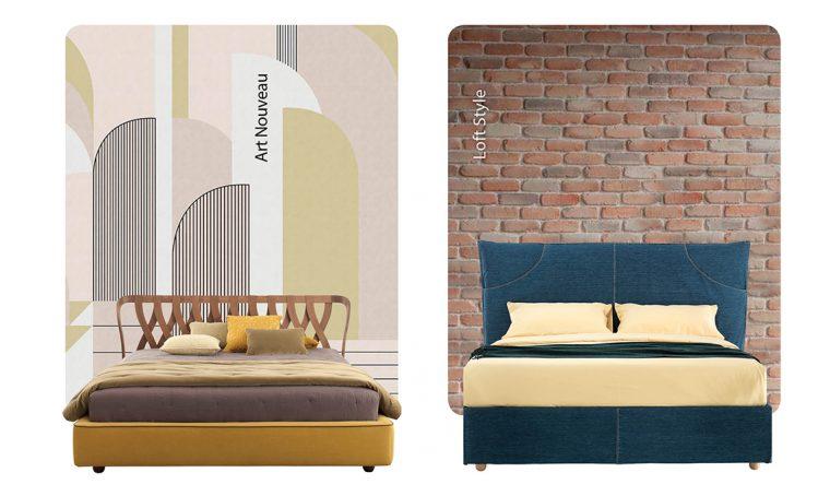 6 idee per la parete dietro il letto