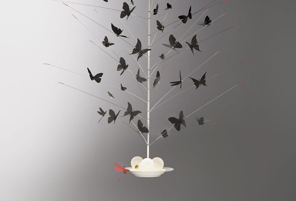 Sospensione 'La Festa delle Farfalle' di Ingo Maurer