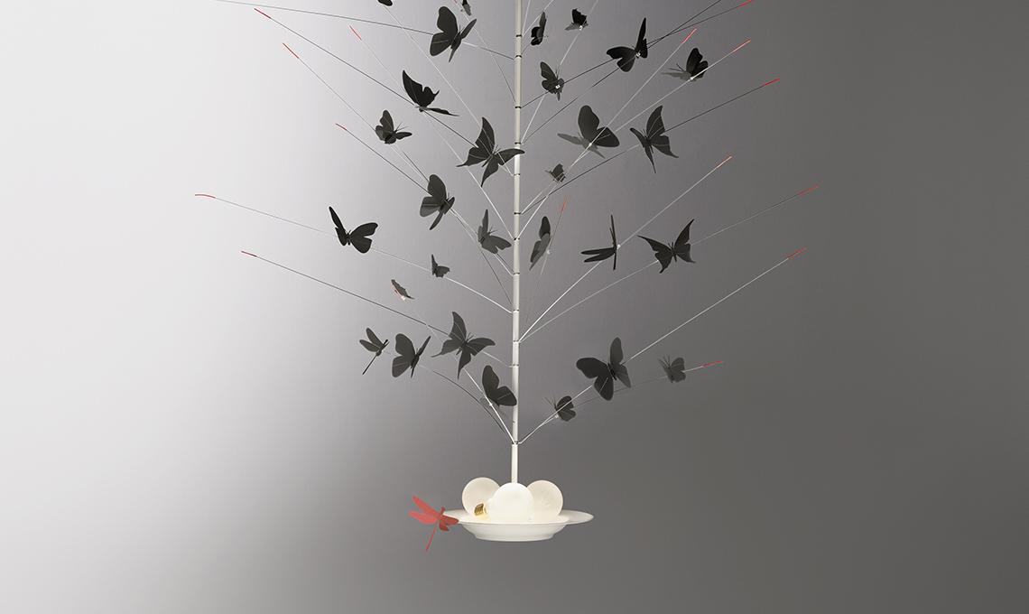 ingo maurer sospensione farfalle