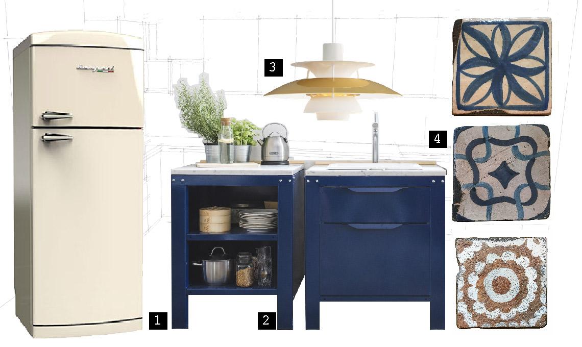 Tendenze in cucina: stile moderno con richiami rétro - CASAfacile