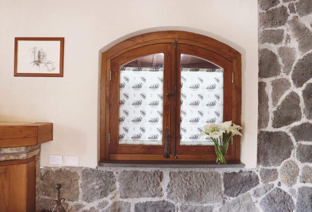 Come creare tende a vetro fai-da-te