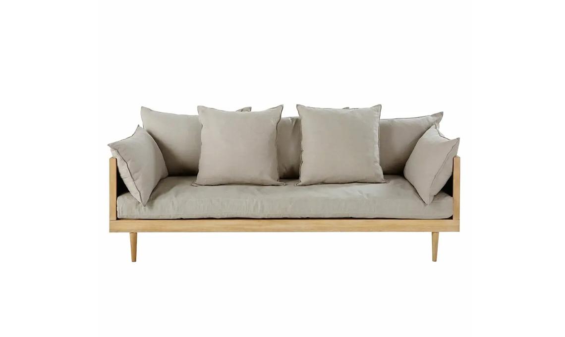 divano struttura legno