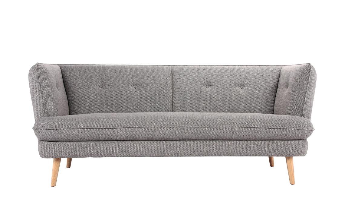 divano moderno gambe legno