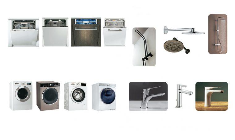 Risparmiare acqua con elettrodomestici e rubinetti 'green'