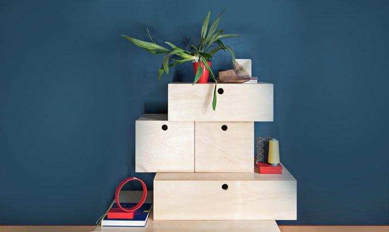 Come creare il componibile 'ziggurat'