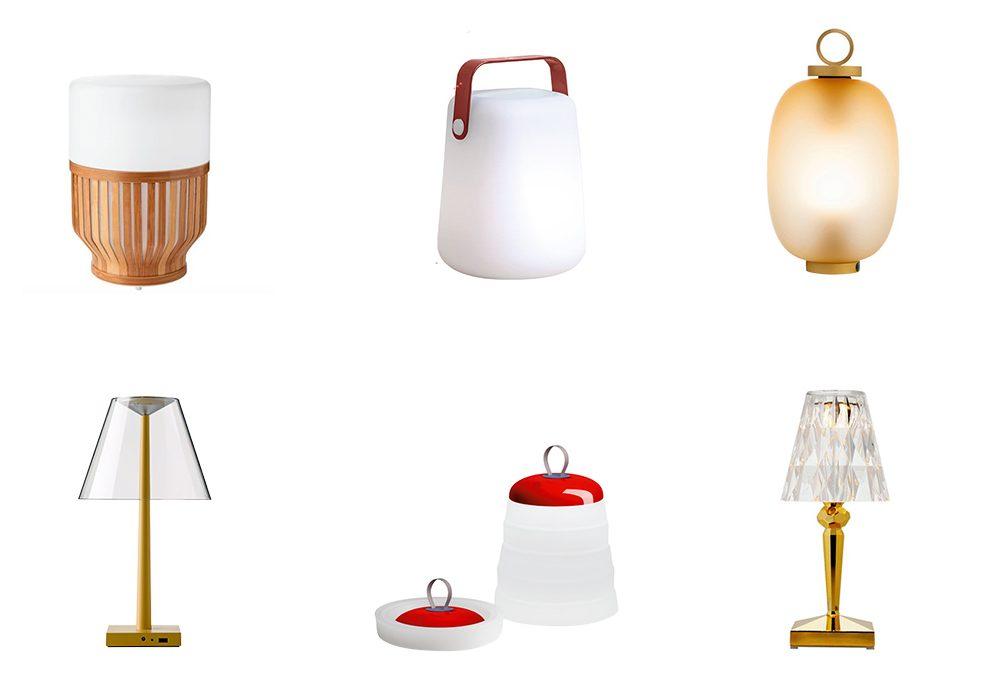 8 lampade senza filo