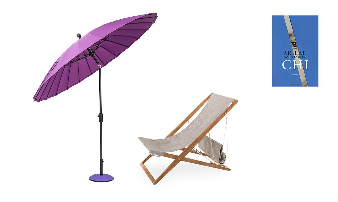sdraio e ombrellone