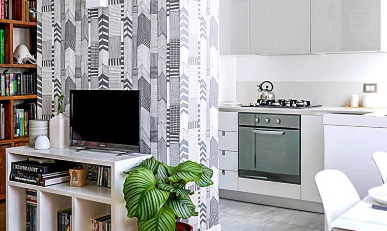 Come creare una quinta per separare cucina e soggiorno