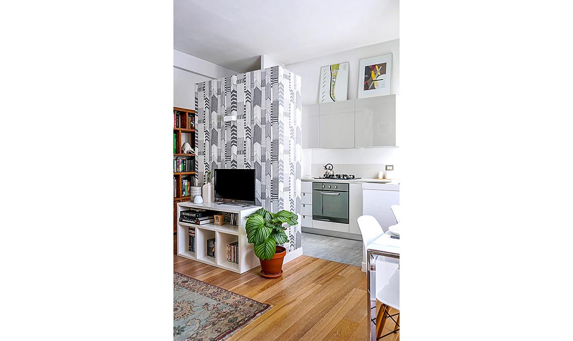Come creare una quinta per separare cucina e soggiorno ...