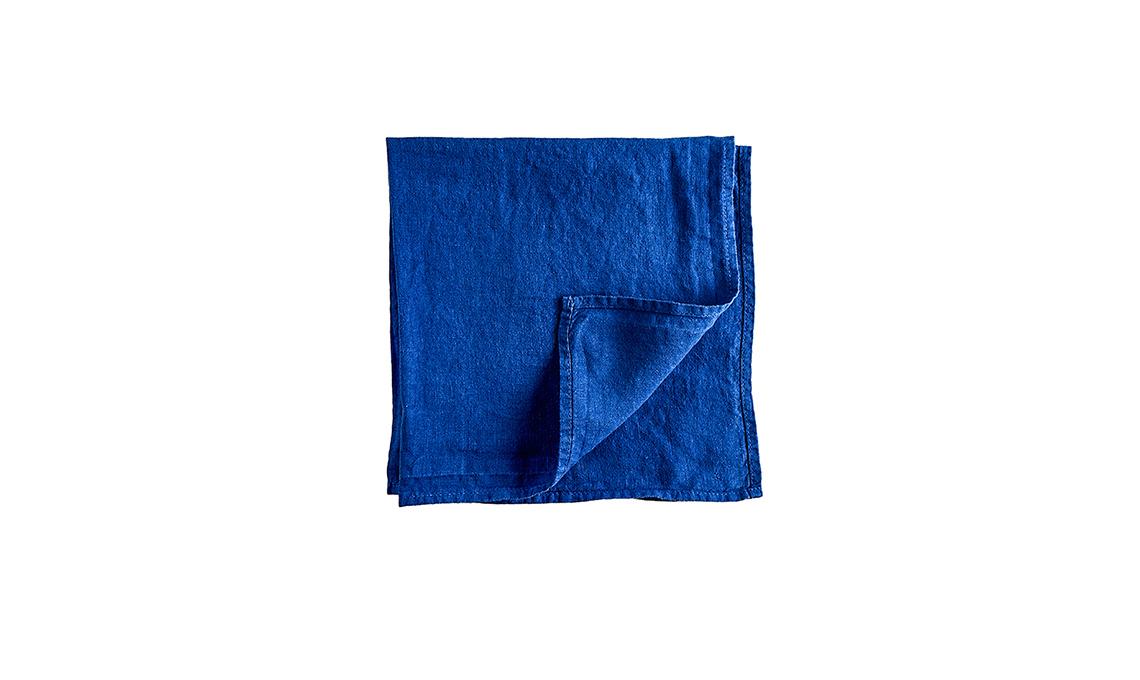 mise en place nei toni del blu