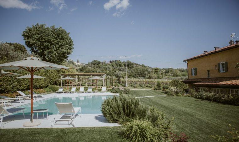 Colazione a Cà Muretta: un relais dove convivono design e gusto