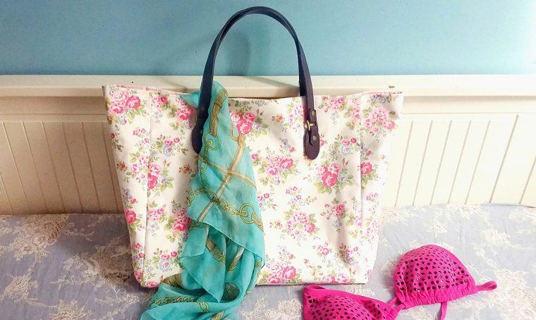 Come realizzare una borsa colorata per l'estate
