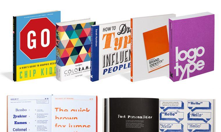 16 libri su tipografia e design
