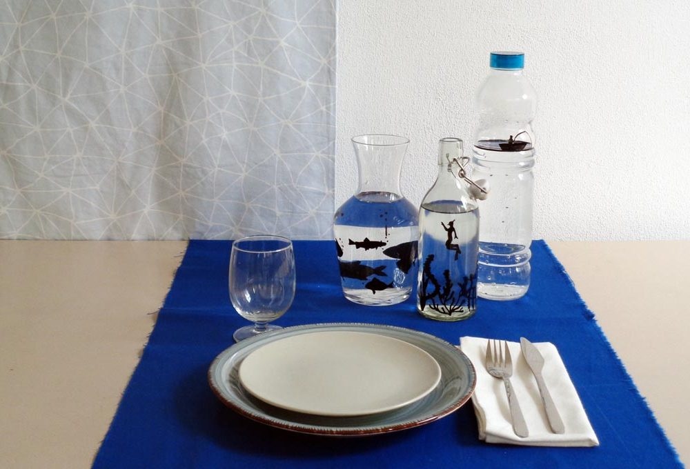 Come decorare le bottiglie di vetro