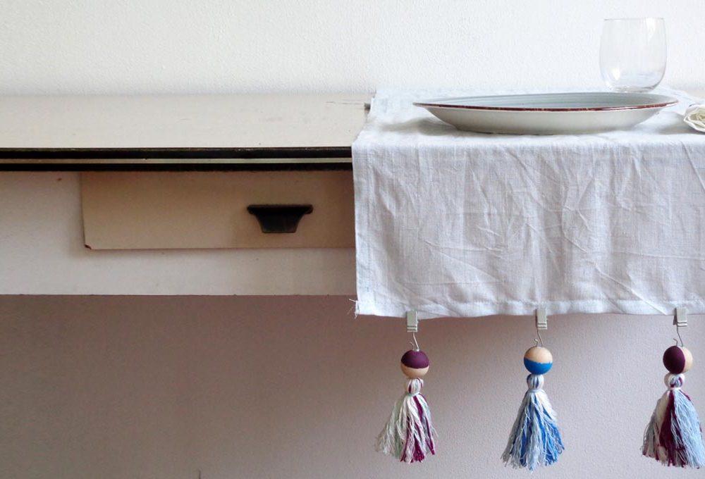 Pesi decorativi per fissare la tovaglia