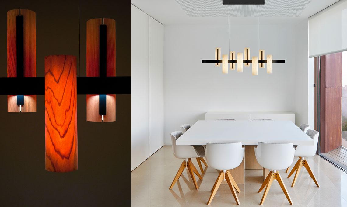 lampadari per la tavola