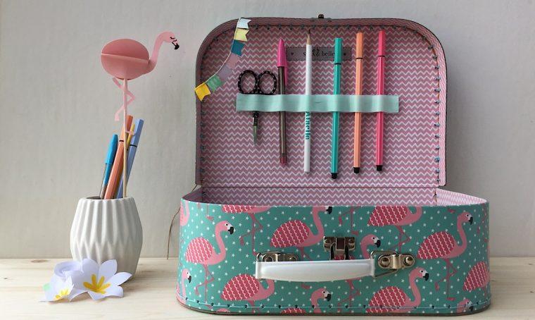 Crea un kit creativo da portare in vacanza